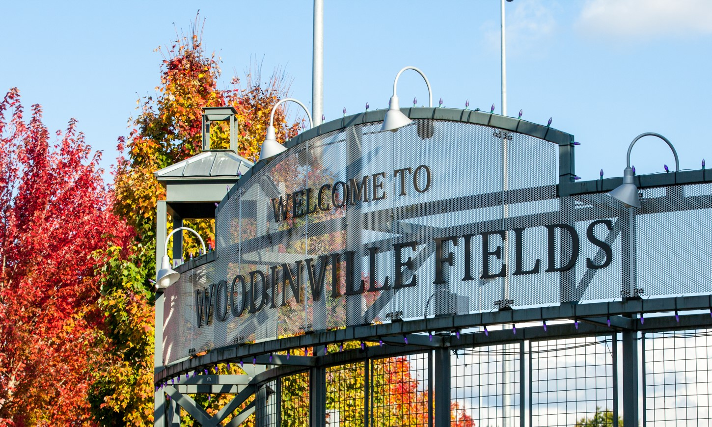 Woodinville Fields Sign Metal
